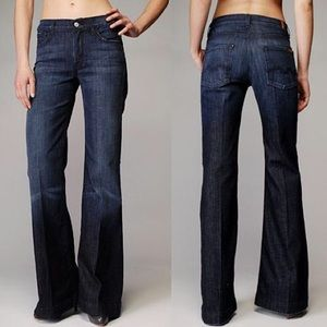 7 For All Mankind Ginger flare leg jeans 28 NWOT